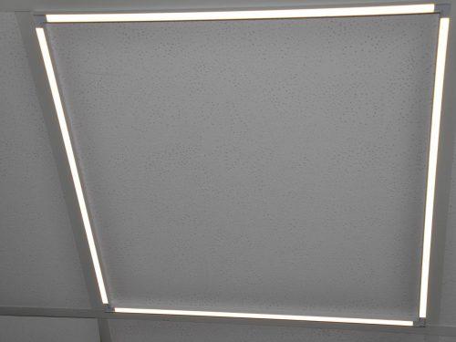 LED Deckenleuchte für abgehängte Odenwald OWA DECKEN